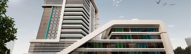 برج تجاری اداری مروارید گوهرشاد